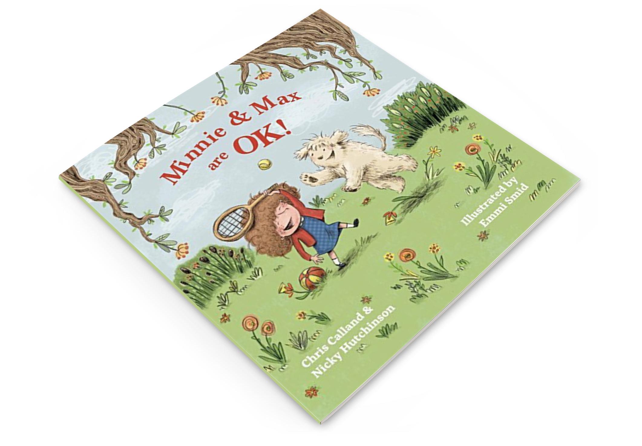 'Minnie & Max are OK' Book Cover